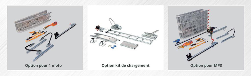 Options pour remorques Qargo Line
