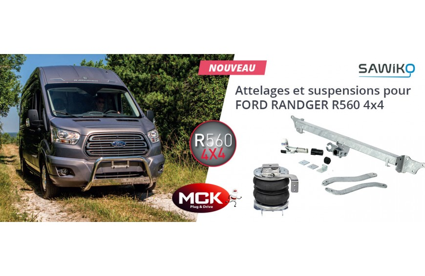 Attache-remorques et suspensions pour Ford Randger R560 4x4