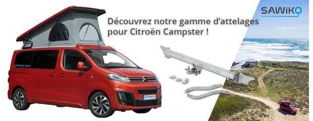 Attache-remorques pour Citroën Campster
